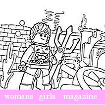 The LEGO Movie Coloring Pages - Unikitty | Lego movie coloring ... | 211x212